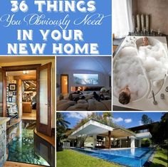 <b>In case you wanted some inspiring ideas for all that disposable income you've got just sitting around.</b>