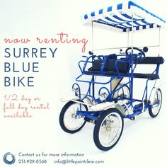 Rent our Surrey for a quick trip to the sunset