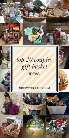 couple gifts Top 20 Couples Gift Basket Ideas - Home DIY Projects Inspiration Date Night Gift Baskets, Date Night Gifts, Wine Gift Baskets, Beach Basket Gift Ideas, Movie Night Gift Basket, Creative Gift Baskets, Christmas Gifts For Couples, Christmas Couple, Gifts For Married Couples