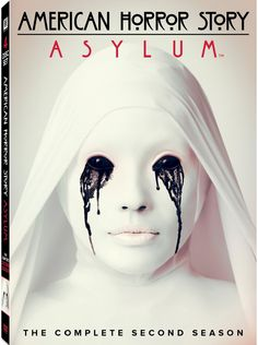 FX's most horrifying and daring provocative series 'American Horror Story: Asylum - The Complete Second Season' arrives on DVD and Blu-ray on Tuesday, October Cast: Jessica Lange, Zachary Quinto, James Cromwell, Sarah Paulson American Horror Story Asylum, American Horror Story Saison, American Story, Glee, Ahs Asylum, Promo Flyer, Joseph Fiennes, Vampire, Maquillage Halloween
