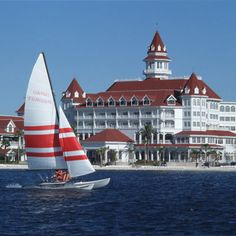 G is for the GRAND FLORIDIAN!  The Grande Dame of the Walt Disney World Resort.  Gorgeous!
