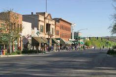 Whiskey Row, downtown Prescott Arizona.