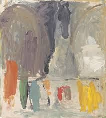 """Christopher Le Brun - """"Day Painting"""" 11 7 07 - oil on canvas Contact the gallery for price. Creative Connections, Tate Gallery, Royal Academy Of Arts, Horse Art, British Museum, Creative Art, Art Museum, Oil On Canvas, Abstract Art"""