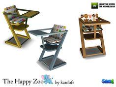 kardofe_The Happy Zoo_Infant highchair