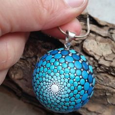 Sweet Mandala Ball Necklace pendant