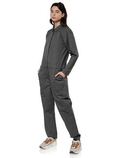 You Must Create - Garland Jumpsuit in Slate – gravitypope Gift Card Balance, Point Collar, Slate, Garland, Jumpsuit, Normcore, Collections, Fashion, Overalls