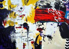 "Saatchi Art Artist Tezcan Bahar; Painting, """"Sınırlı Benlikler - 01"""" #art"