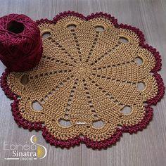 Crochet Placemats, Crochet Dishcloths, Crochet Borders, Crochet Stitches Patterns, Crochet Doilies, Stitch Patterns, Crochet Cord, Thread Crochet, Crochet Crafts