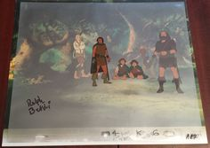 Lord of the Rings Original Production Animation Cel - SIGNED by Ralph Bakshi