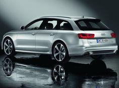 2012 Audi A6 Avant, C7, images, car, side rear, wallpapers