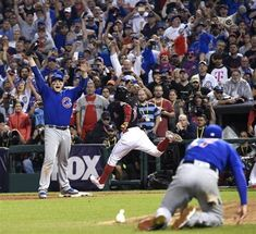 """""""Reign Men"""" is an original documentary by Comcast SportsNet about Game 7 of the 2016 World Series, won by the Chicago Cubs. Daily Herald Cubs writer Bruce Miles says the program is a winner. Cubs Win, Go Cubs Go, Chicago Cubs Baseball, Game 7, World Series, Reign, Documentaries, Champion, Sports"""