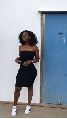 black sleeveless dress Black sleeveless dress Check out this item in my Etsy shop . Source by niceroyxx outfits black girl Dope Outfits, Dress Outfits, Fall Outfits, Summer Outfits, The Dress, Fashion Outfits, Summer Clothes, Black Girls Outfits, Dress Fashion