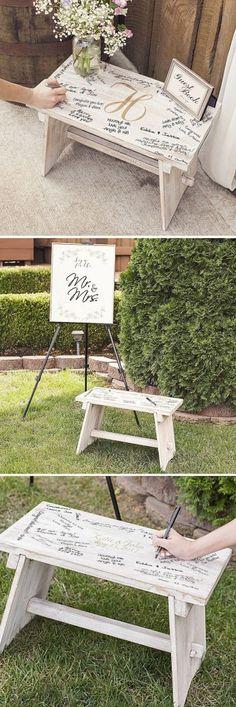 74 Unique Wedding Guest Book Ideas