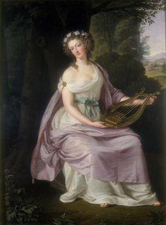 Guttenbrunn - Marie Antoinette as Erato - 1788