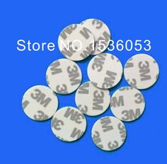 (5 pcs/lot) 125Khz RFID Tags Writable Stickers T5577 Proximity Cards Rewritable PVC 3M glue Adhesive Label For RFID Copier