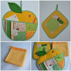 Quilted Bag, Potholders, Repurposed, Upcycle, Home Decor, Scrappy Quilts, Ideas, Kitchen Accessories, Crafts