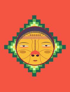 Ilustración / Mapuche