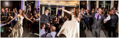 Dancing the hora // found on Modern Jewish Wedding Blog //  Photographer:  J. La Plante