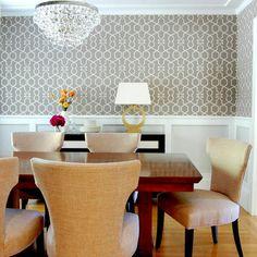 contemporary glam rooms | WHITE GLAM*: Papel de parede #2