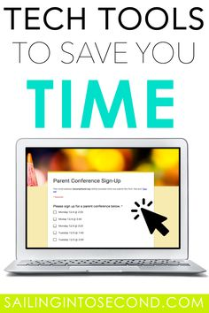 As a century teacher, you can take advantage of technology to help save your sanity. These tech tools to save you time will help make your first years in the classroom a whole lot easier! Teacher Organization, Teacher Hacks, Teaching Career, Teaching Ideas, Classroom Hacks, Word Work Activities, Student Data, Library Lessons, New Teachers