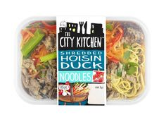 The City Kitchen Shredded Hoisin Duck Noodles www.ilovecitykitchen.co.uk