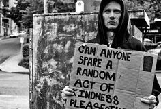 Spare an act of kindness