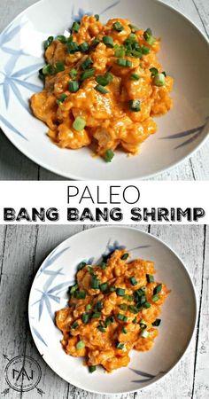 Paleo Bang Bang Shrimp - No cornstarch, no sketchy ingredients and no heart attack inducing vegetable oils.