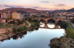 Ourense, A Ponte Vella, Galiza.
