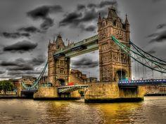 тауэрский мост, london