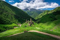 States and Republics in Caucasus. the struggles of war, freedom fight and terrorism; Caucasus - beauty, struggles and diversity Battle Towers, Caucasus Mountains, Get Shot, Homeland, Cool Places To Visit, The Good Place, Explore, Landscape, Nature