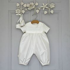 Boys Christening Romper 'Venice' by Adore Baby, the perfect gift for Explore more unique gifts in our curated marketplace. Christening Gowns For Boys, Baby Christening Outfit, Baby Baptism, Baptism Ideas, Baptism Party, Baby Boy Romper, Baby Dress, Baby Boy Outfits, Rompers