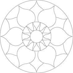 chakra mosaic - Google Search