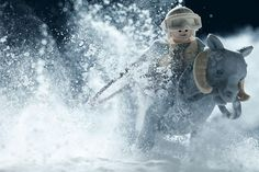 Amazing Photographer Recreates Star Wars With LEGO and Baking Soda https://www.flickr.com/photos/avanaut/sets/