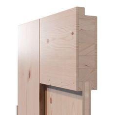 Auf die inneren Werte kommt es an: Der Querschnitt einer unserer moderen Massivholz-Türen im Bauhaus-Stil - nur auf deinetuer.de