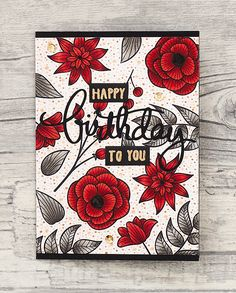 wieesmirgefaellt.de | Altenew Striped Florals Altenew Cards, Scrapbook Pages, Cardmaking, Stampin Up, Prompts, Layering, Florals, Card Ideas, Stamps