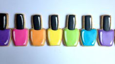 How To Decorate Nail Polish Cookies!