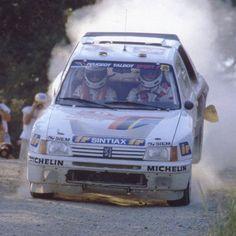 Zanussi Peugeot 205 Rally car