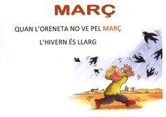 DIta MARÇ P5 Printables, School, Movies, Movie Posters, Creative Writing, Sayings, Languages, Calendar, Classroom