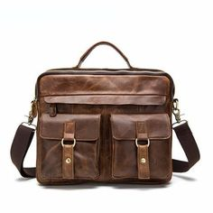 Retro genuine leather bag. Business BriefcaseMen s BriefcaseBusiness LaptopLawyer  ... 47ff46abd1898
