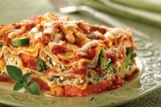 Farmers Market Lasagna - I have made this so many times and it never disappoints.  A great make-ahead for company.