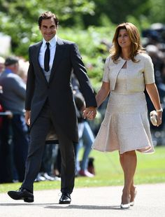 Swiss tennis player Roger Federer and his wife Mirka attend the wedding of Pippa Middleton and James Matthews at St Mark's Church in Englefield, west of London, on May Pippa Middleton hit. Get premium, high resolution news photos at Getty Images Taylor Swift Outfits, Tennis Stars, Royal Wedding Pippa Middleton, Kate Middleton, Meghan Markle Dress, Pippa And James, Alexander Mcqueen, Tennis Photos, James Matthews