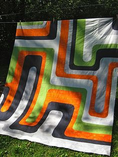 Groove Quilt by Abby