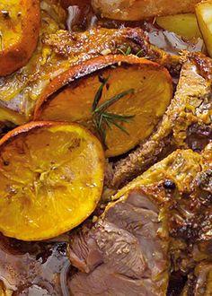 Borrego com especiarias e alecrim Lamb with spices and rosemary www.