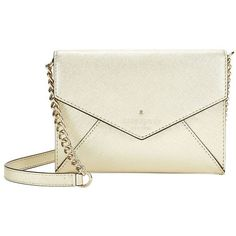Kate Spade New York Monday Leather Crossbody Bag ($148) ❤ liked on Polyvore