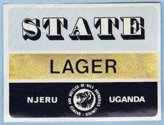 State Lager Label Uganda
