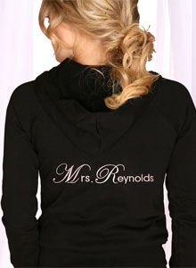 Custom Bridal Hoodies and Sweatsuits - Ships in 1 Day. Create your Custom Bride Sweatsuit - As Seen on Celebrities and Media. Wedding Rehearsal, Formal Wedding, Dream Wedding, Honeymoon Attire, Wedding Weekend, Wedding Morning, Black Tie Affair, Wedding Dress Accessories, Wedding Wishes