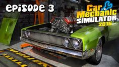Let's Play Car Mechanic Simulator 2015 | Episode 3 | Replace Rubber Bushing