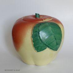 Vintage Apple Cookie Jar....just like mine!