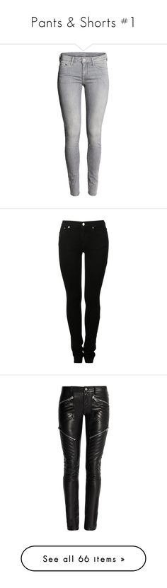 """""""Pants & Shorts #1"""" by haley12345678 on Polyvore featuring jeans, pants, bottoms, skinny jeans, low rise jeans, super skinny super low jeans, denim jeans, skinny leg jeans, super skinny jeans and calças"""