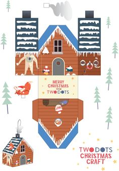 TwoDots Advent Calendar Surprise #1 *Craft a TwoDots Christmas ornament* You need • to download it • a printer to print it out duh • good scissors or cutting knife • any kind of paper glue • a piece...